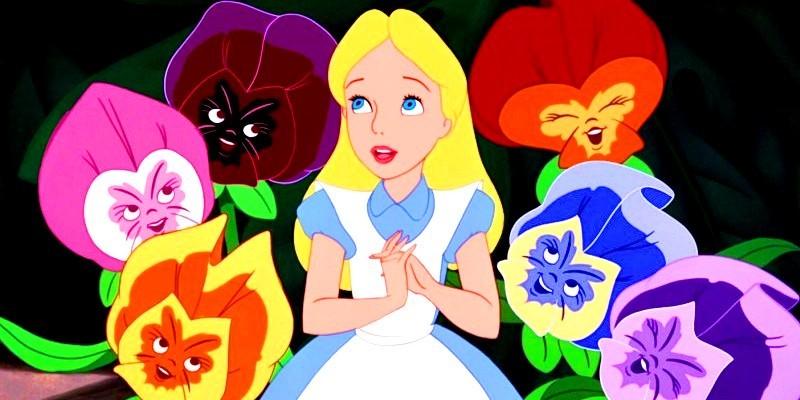 Alice Amp The Pansies Alice In Wonderland Fan Art