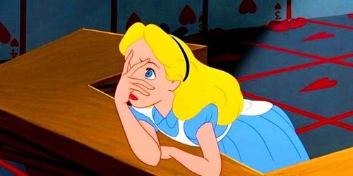 Alice in Wonderland wallpaper entitled Alice