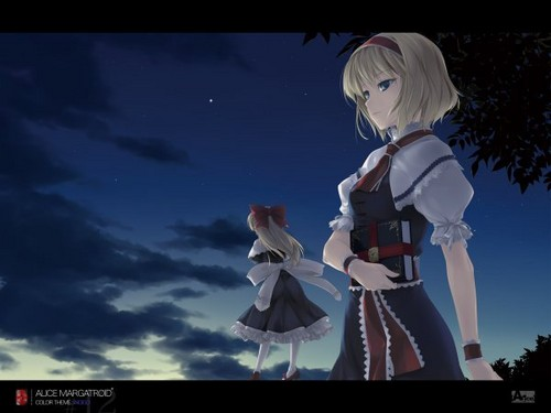 Alice at night