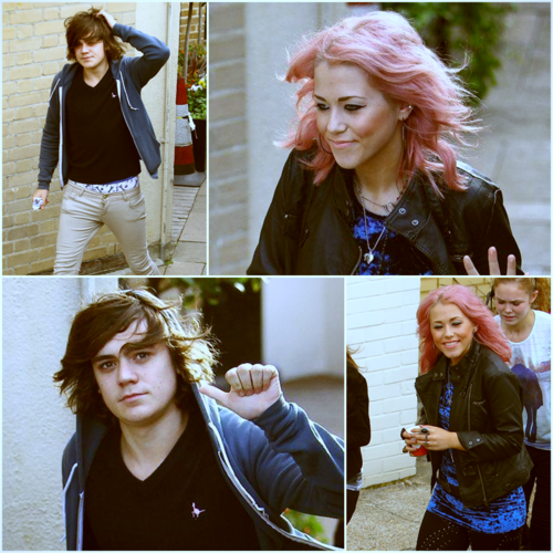 Amelia Lily & Frankie Cocozza! Love Birds (They R An Item) 100% Real ♥  - allsoppa Fan Art