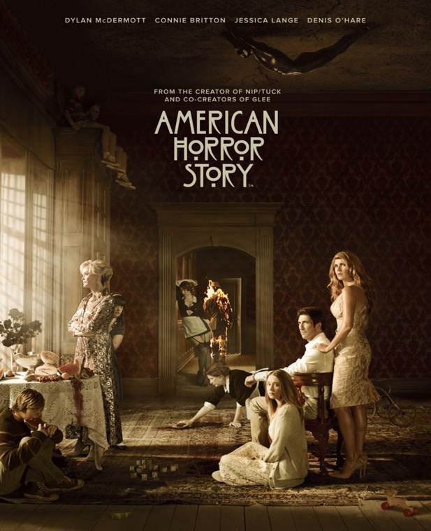 American Horror Story - Season 1 - Full Cast Poster