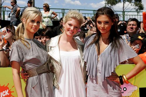 Arrivals At Nickelodeon Australian Kids' Choice Awards 2008