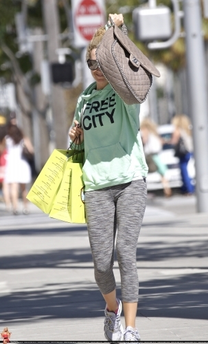 Ashley out in Beverly Hills