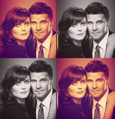 Booth and Bones wallpaper containing a business suit called B&B♥