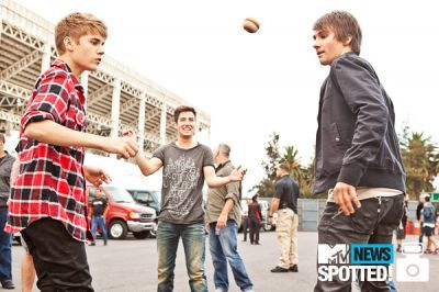 BTR and Justin Bieber