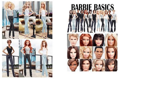búp bê barbie Basics 2.0