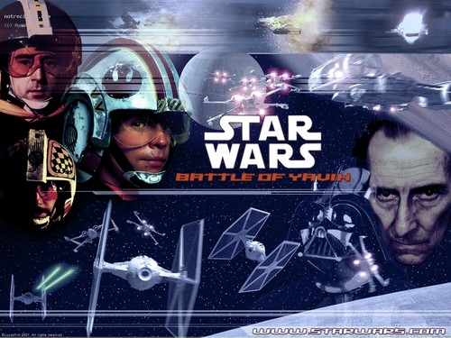 Star Wars wallpaper possibly with anime titled Battle of Yavin