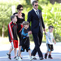 Beckham family (: - celebrity-couples photo