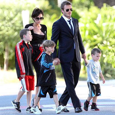 Beckham family (: