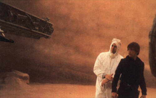 Behind the scenes of ROTJ - DELETED SANDSTORM SCENE