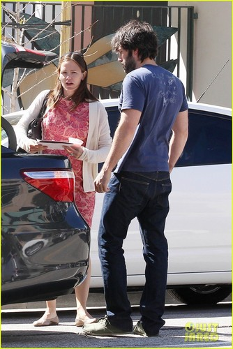Ben Affleck & Jennifer Garner: kürbis Picking with the Girls!