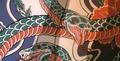 Benisato snake tattoo