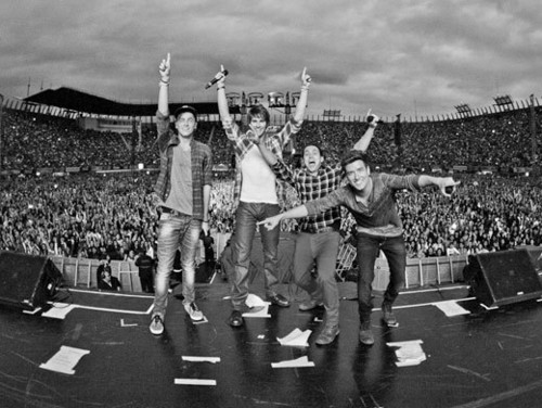 Big Time Rush konsiyerto last araw in Mexico City