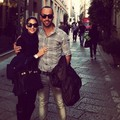 Carol tweeted. (Yan Acioli and Caroline Celico in Milan). - caroline-celico photo