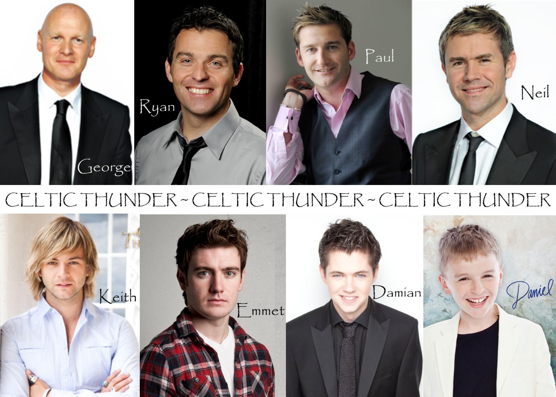Celtic Thunder (past & present)