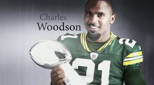 Green baie Packers fond d'écran called Charles Woodson