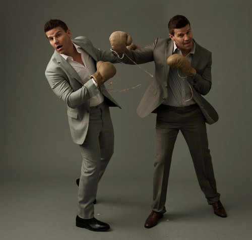 David Boreanaz wallpaper containing a business suit, a well dressed person, and a suit called David!♥