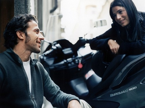 Del Piero with his wife