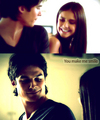 Delena! U Make Me Smile :) 100% Real   - allsoppa fan art