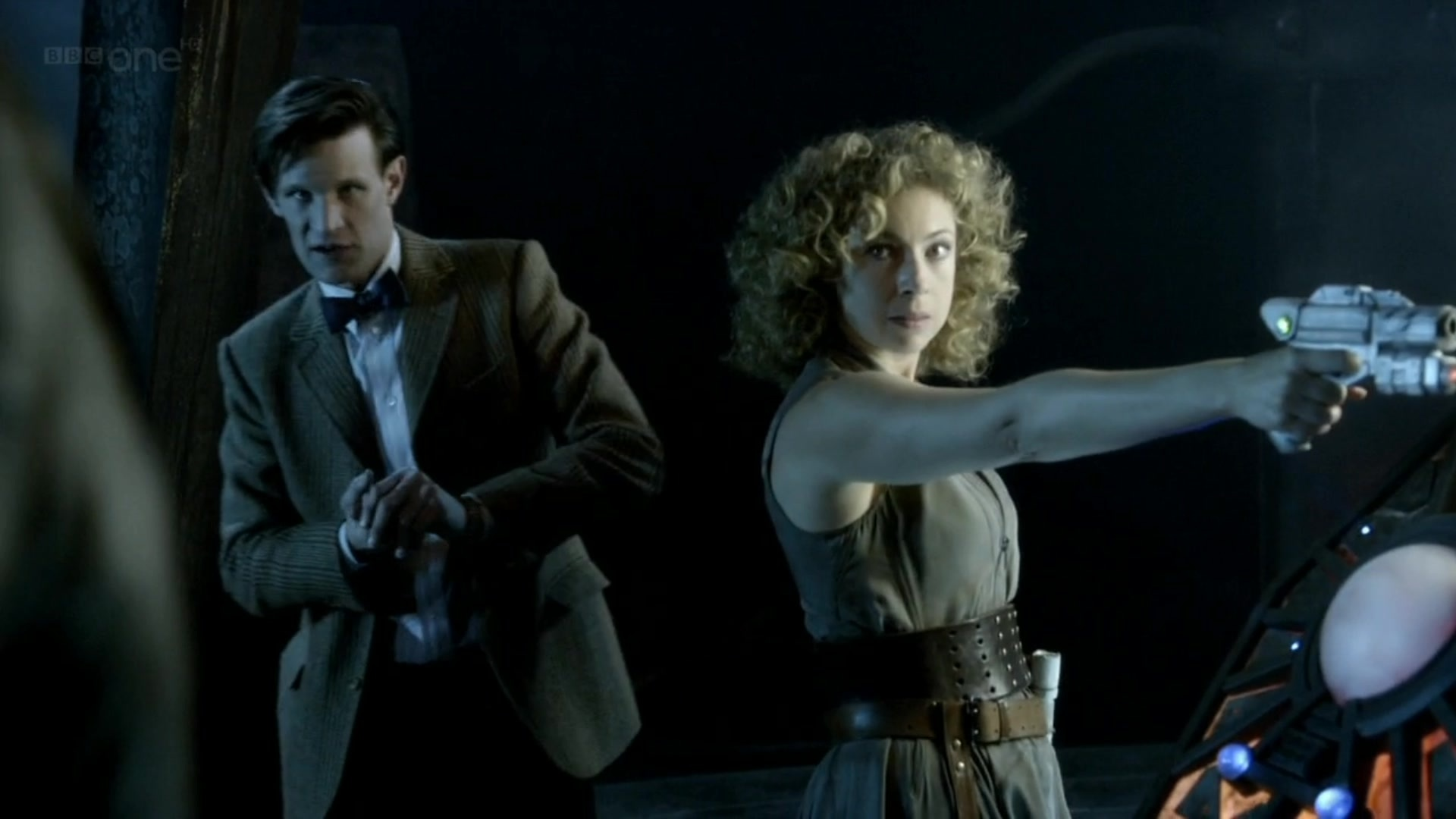 river song and the doctor flirting Blaine anderson is preparing to embark on a new solo chapter of his life: entering college to those around him, he might appear to be just another ordinary eighteen-year-old, but when his loving parents are none other than the doctor--earth's constant saviour and last of the time lords--and river song--a human weapon.