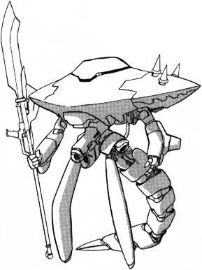 Gundam দেওয়ালপত্র entitled EMA-06 Elegolea