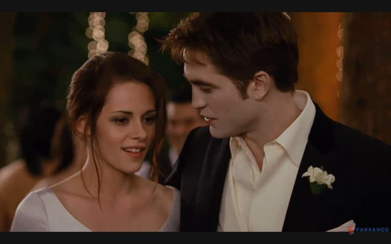 Edward and Bella Wedding Still