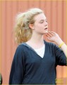 Elle Fanning: Dance Class in Studio City!