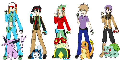 Espeongirl360's fan Characters