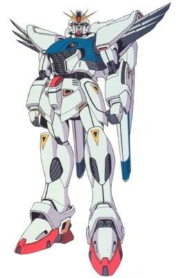 Gundam দেওয়ালপত্র called F91 Gundam Formula 91