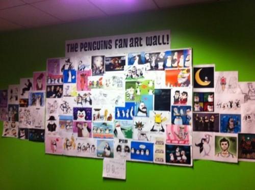 팬 Art 벽