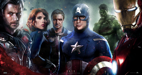 fan made poster of The Avengers