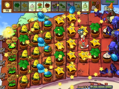 Plants vs. Zombies wallpaper called Final Wave at Stage 5, Level 2