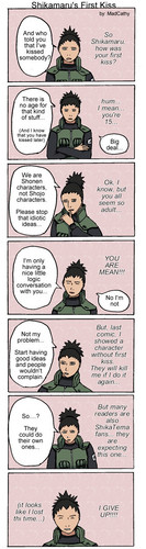 First kiss Comics