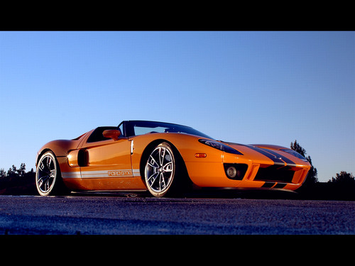 Ford Gt Wallpaper Probably Containing A Sports Car Titled Ford Gt