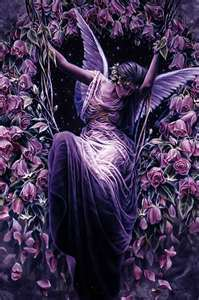 Fairies wallpaper possibly with a red cabbage titled Gothic fairy
