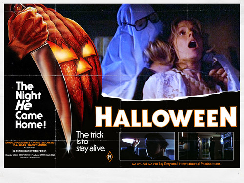 films d'horreur fond d'écran containing animé titled Halloween 1978