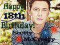 Happy 18th Birthday Scotty!!