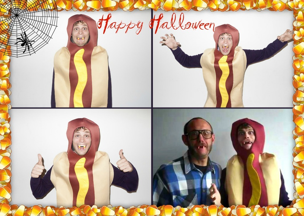 Happy Halloween with The Gube and Terry Richardson