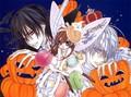 Happy Helloween Zero,yuuki and Kaname <3