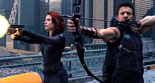 Hawkeye & Black Widow