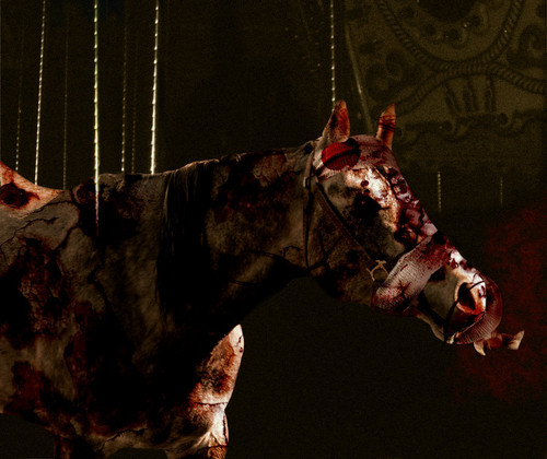 Silent Hill wallpaper with a lippizan titled carousel