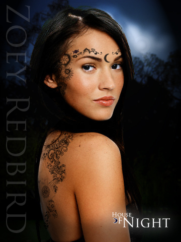 House of Night---Zoey Redbird