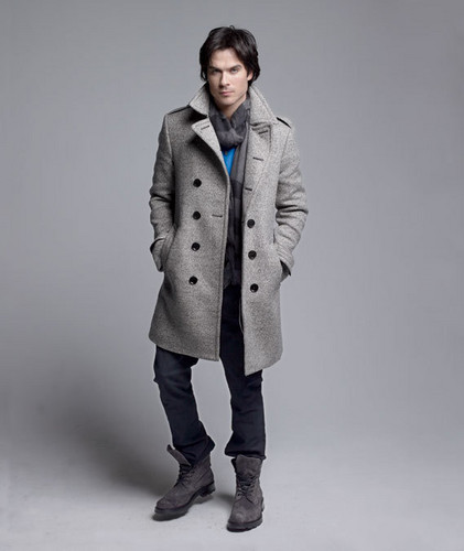 Ian Somerhalder wallpaper probably with a well dressed person, a pea jacket, and a trench coat entitled Ian Somerhalder Photoshoot