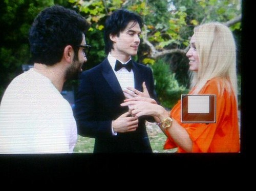 Ian Somerhalder shooting music video w/ russian singer Dima Bilan  - ian-somerhalder Screencap