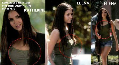If anyone still had doubts about this... it WAS Elena the one with Caroline!