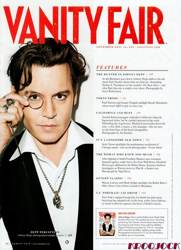 JD in Vanity Fair November