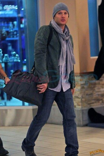 Jensen At The Airport