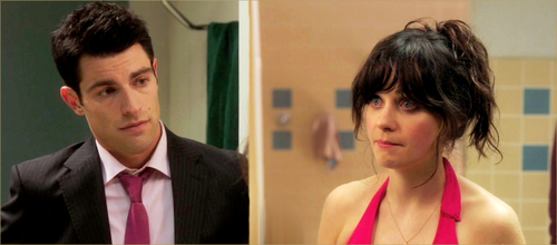 New girl wallpaper called Jess & Schmidt