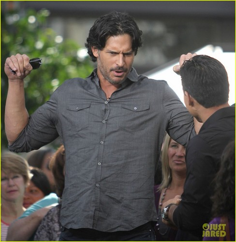 Joe Manganiello: Busy in Male Stripper Land!