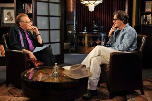 Johnny Depp and Larry King